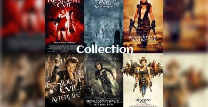 Resident Evil Hexalogy (2002-2016) Collection 1080p Bluray x265