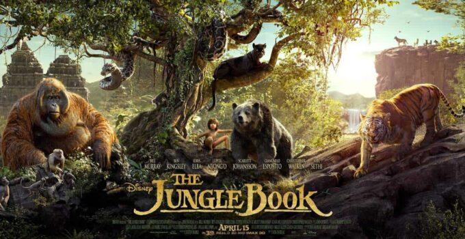 The Jungle Book (2016) 720p + 1080p + 2160p 4k